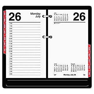 Amazon Com At A Glance E717t50 Desk Calendar Refill With