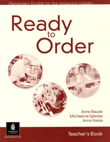 ready to order , teacher's book