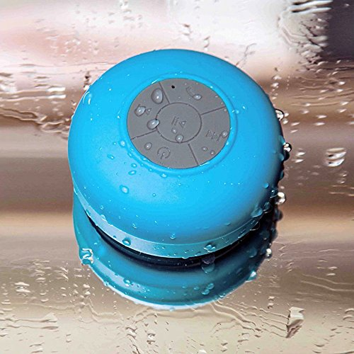 Security 1815950 Hands-Free Waterproof Bluetooth Wireless Shower Stereo Sound Speaker with Suction Cup (Sound Shower compare prices)