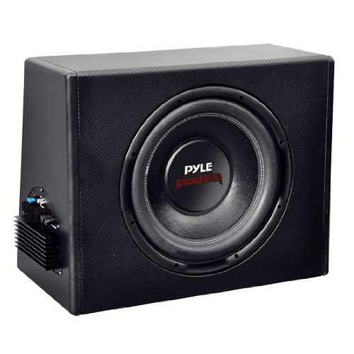 Pyle Plpr10A 10-Inch Slim Design Powered Enclosure System