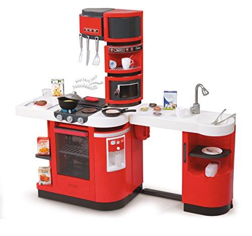 Smoby Cook Master kitchen - juguetes de rol para niños (3 Año(s), Femenino, Gris, Rojo, Color blanco, 110 cm, 34 cm, 99 cm)