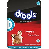 Drools Chicken And Liver Wet Dog Food Pouch, 150 G (Pack Of 4)