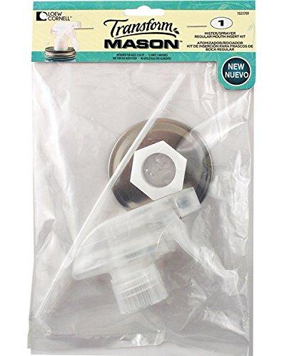 Loew Cornell 1023709 Transform Mason Regular Mouth Spray Lid Insert