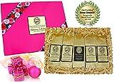 Christmas Coffee Gift for Women, Kona Hawaiian Coffee Blends, Ground Coffee, Brews 60 Cups