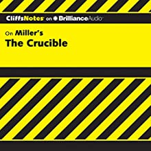 The Crucible: CliffsNotes Audiobook by Jennifer L. Scheidt, M.A. Narrated by Joyce Bean