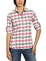 Salewa Camisa Mujer Therma 2.0 Pl W L/S Srt (Rosa / Barro)