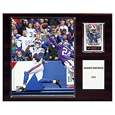 C and I Collectables NFL 15W x 12H in. Sammy Watkins Buffalo Bills Player Plaque