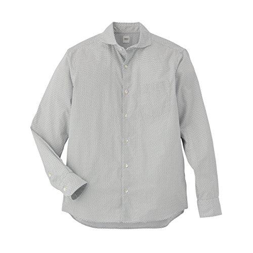 (タケオ キクチ)TAKEO KIKUCHI フィッシュプリントブロードシャツ ホワイト(101) 01(S)