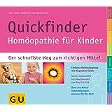 Quickfinder- Hom�opathie f�r Kinder (GU Quickfinder P&F)