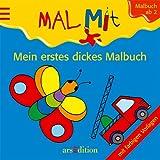 Mein erstes dickes Malbuch: Mit farbigen Vorlagen - Barbara Gerlach