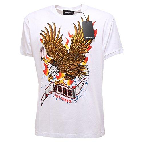 2478Q t-shirt DSQUARED D2 maglia manica corta uomo t-shirt men [XXL]