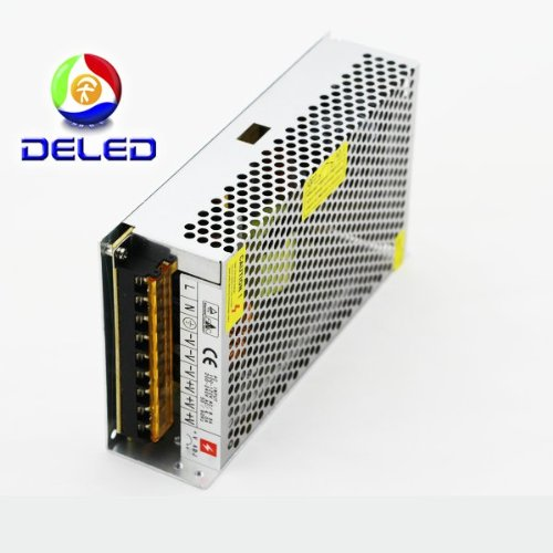 Deled Power Supply Adapter 10 Amp 120 Watt 110V-220V Ac To 12V Dc Switching Power Supply Converter Driver For Led Strip Light Protections: Short Circuit/Over Load/Over Voltage *High Efficiency To 90%, Long Life And High Reliability *Withstanding High Volt