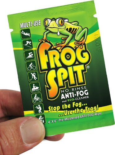 Frog Spit Anti Fog Defog Multi Sport Wipe