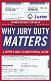 img - for Why Jury Duty Matters: A Citizen's Guide to Constitutional Action book / textbook / text book
