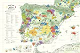 img - for Wine Map of The Iberian Peninsula (Spain and Portugal) book / textbook / text book