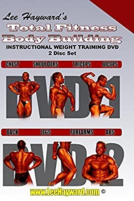 Lee Hayward's Total Fitness Body Building Instructional Weight Training DVD Series 2 Disc Set by Steve Davis