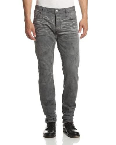 Rogue Men's Cement Wash Slim Straight Jean