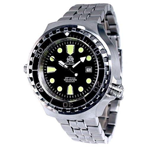 [トーチマイスター1937]Tauchmeister1937 腕時計 ドイツ製 1000m防水 自動巻 ダイバー ヘリウムリリースバルブ登載 T0046M [並行輸入品]