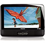 """Philips PD9012 9"""" Single Widescreen Portable In Car DVD Player PD9012S CR (Certified Refurbished)"""