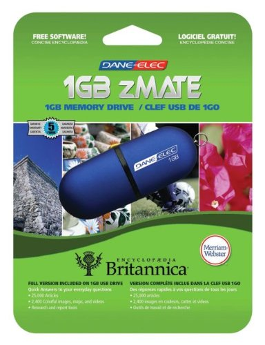 Scholastic 1GB Flash Drive with Encyclopedia Britannica - 1