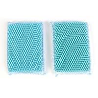 Butler Dawn Flip It Sponge 2pk - 2 Nylon Mesh and Cloth Covered Sponges
