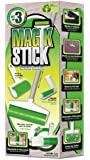 As Seen On TV Sticky Master Magic Stick Lint Remover 3 Piece Set Super Sticky Reusable Washable Rollers