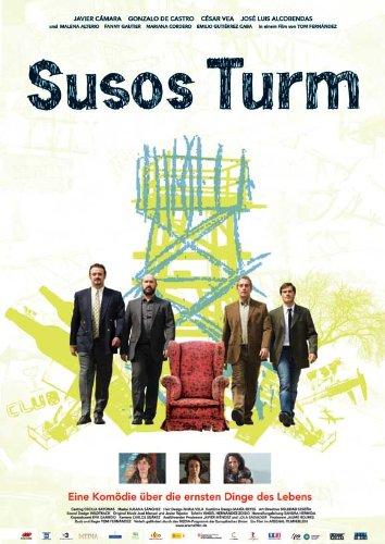 La Torre de Suso Poster film In tedesco 11 x 17 cm x 28 cm, 44 Cámara de Javier Gonzalo Castro César Vea José Luis Alcobendas