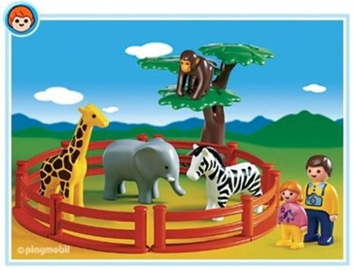 Playmobil 1.2.3 Zoo Play Set front-904738