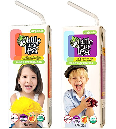 Little Me Tea Single-Serve Tea, Tropical And Grape, 30 Count