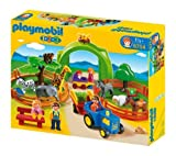 PLAYMOBIL 1.2.3 - 6754 Large Zoo + 1.2.3 - 6772 - Forest Animal Park