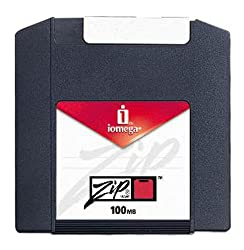 Iomega Zip Disk 100MB Ten Pack Formatted for PC Multicolored Discontinued by Manufacturer