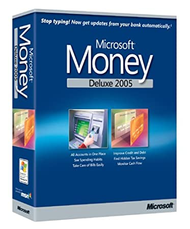Microsoft Money Deluxe 2005 [Old Version]