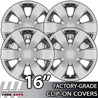 2006-2007 Hyundai Sonata 16 Inch Chrome Clip-On Hubcap Covers