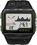 Timex Expedition WS4 T49664 Watch with Widescreen Dashboard Display Dial and Black Plastic Strap