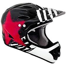 Kali Protectives Durgana Tam Helmet, Medium, Black/Red