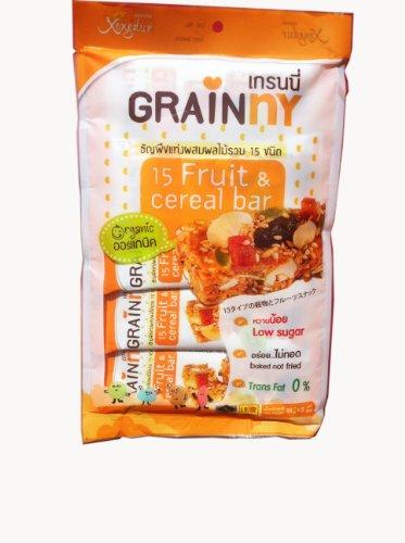 Healthy Fruit Cereal Bars 15 Fruit & Cereal Bar.