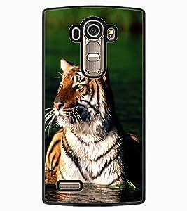 ColourCraft Tiger Look Design Back Case Cover for LG G4