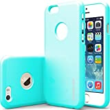 """iPhone 6 Case, Caseology [Drop Protection] Apple iPhone 6 (4.7"""" inch) Case [Turquoise Mint] Slim Fit Skin Cover [Shock Absorbent] TPU Bumper iPhone 6 Case [Made in Korea] (for Apple iPhone 6 Verizon, AT&T Sprint, T-mobile, Unlocked)"""