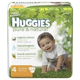 Huggies Pure & Natural Diapers