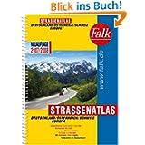 Falk Straßenatlas 2007/2008. Deutschland, Österreich, Schweiz, Europa. 1 : 300 000, 1 : 301 000, 1: 4 500 000....