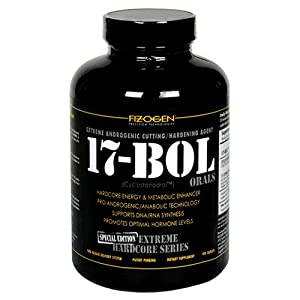 Fizogen 17-BOL Orals Extreme Androgenic Cutting/Hardening Agent