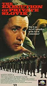 The Execution of Private Slovik [VHS]