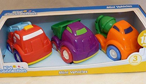 Kid Connection 3 Piece Mini Vehicles
