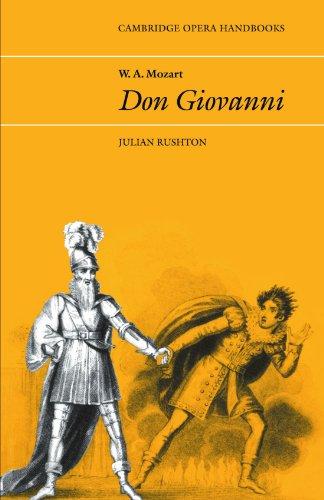 W. A. Mozart: Don Giovanni Paperback (Cambridge Opera Handbooks)