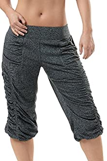 Shirred Crop Pant - KOS USA