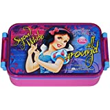 Disney Snow White Lunch Box, 450ml, Pink/Blue - B00V65UHK6