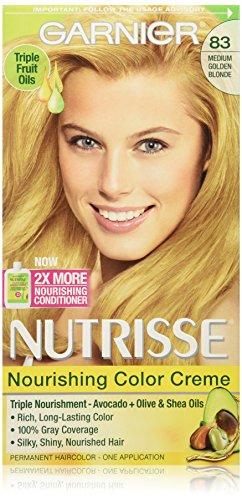 Garnier Nutrisse Nourishing Color Creme 83 Medium Golden Blonde (Cream Soda)