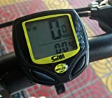 Factop LCD Wireless Cycle Bicycle Bike Computer Speedometer Odometer