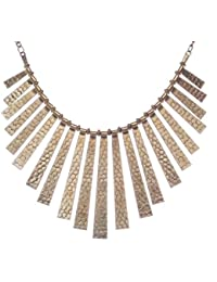 Adorelabel Necklace For Girls Fashion Party Wear Fashion Jewellery Modern Trendy Stylish Silver Statement Necklace...
