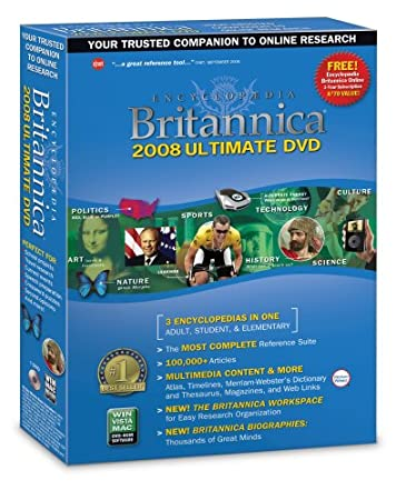 Encyclopedia Britannica Ultimate 2008 [OLD VERSION]